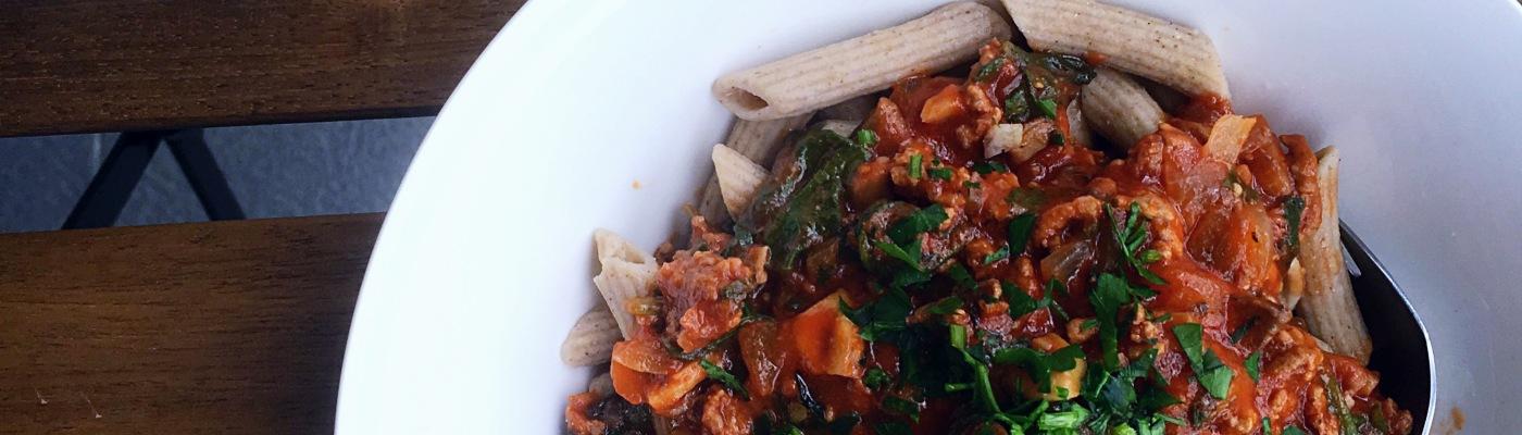 Buckwheat pasta fitness food