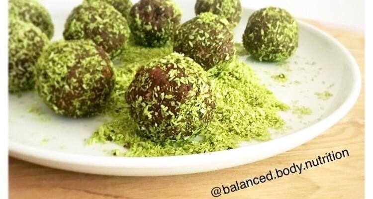 Matcha Maiden Protein Balls