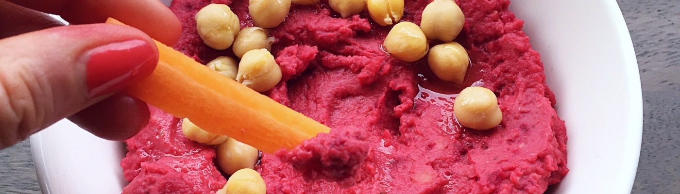 beetroot hummus dip recipe gf/df/vg
